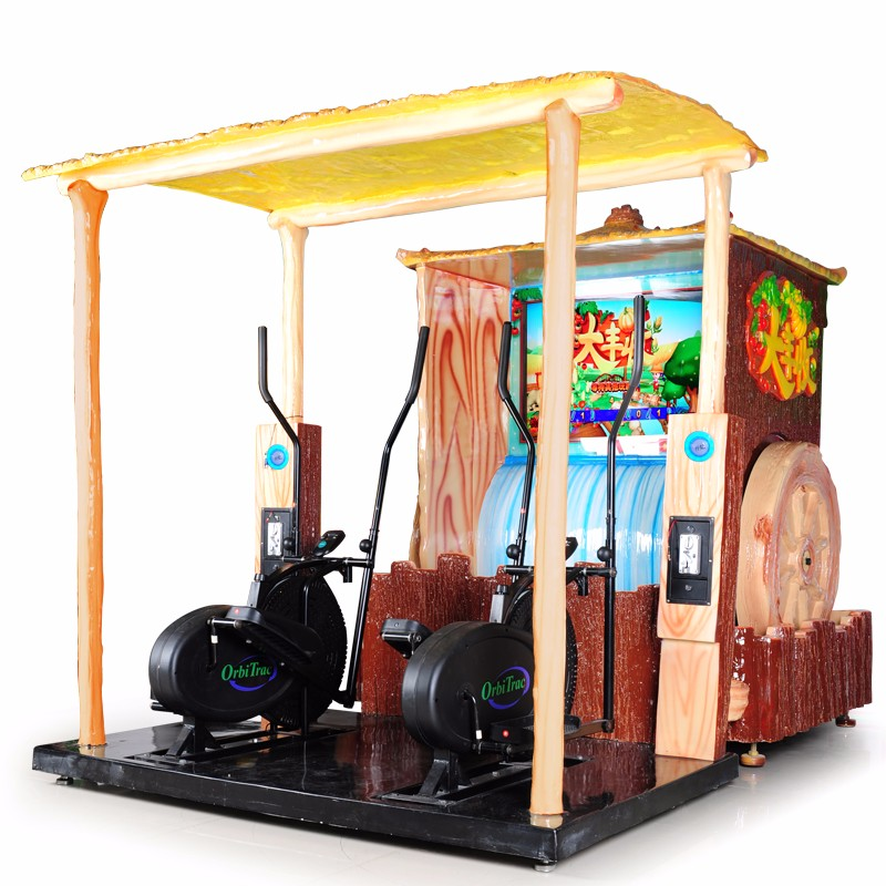Bumper harvest simulator sports game machine