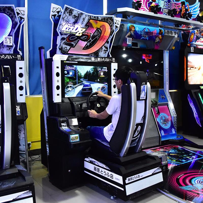 Term Of Service: Initial D8 Simulator Arcade Racing Car Game Machine