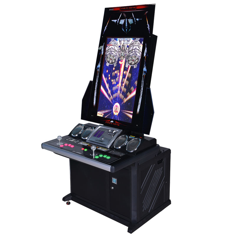 Lightning IV electronic fighting game machine