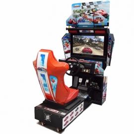 HD Tour video driving simulator car arcade racing game machine