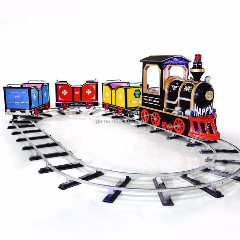 ride track mini arcade electronic kids train game machine