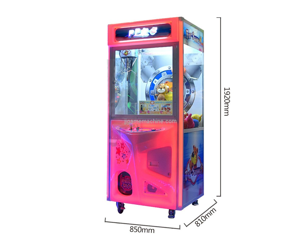 PP Tiger Doll Machine size
