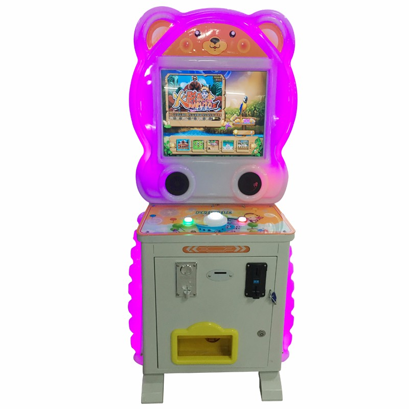 Luxury Blouse patted music coin-operated wisdom children kids arcade machine