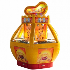 golden fort lottery redemption ticket arcade coin-operated game machines