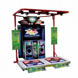 Dancing V electronic simulator music dancing machine game