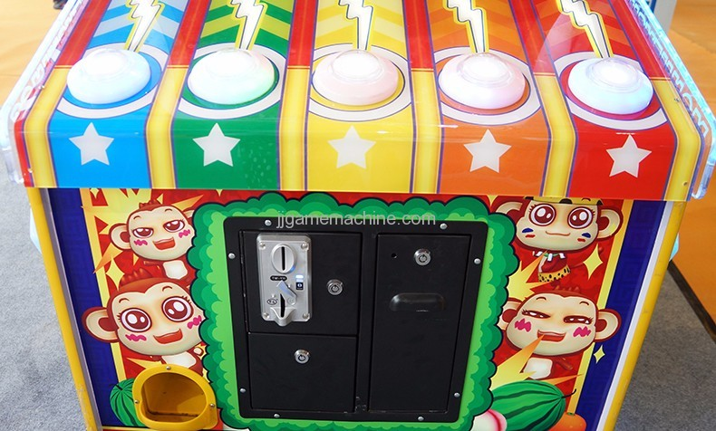 Monkey King coin-operated arcade game machine coin insert board