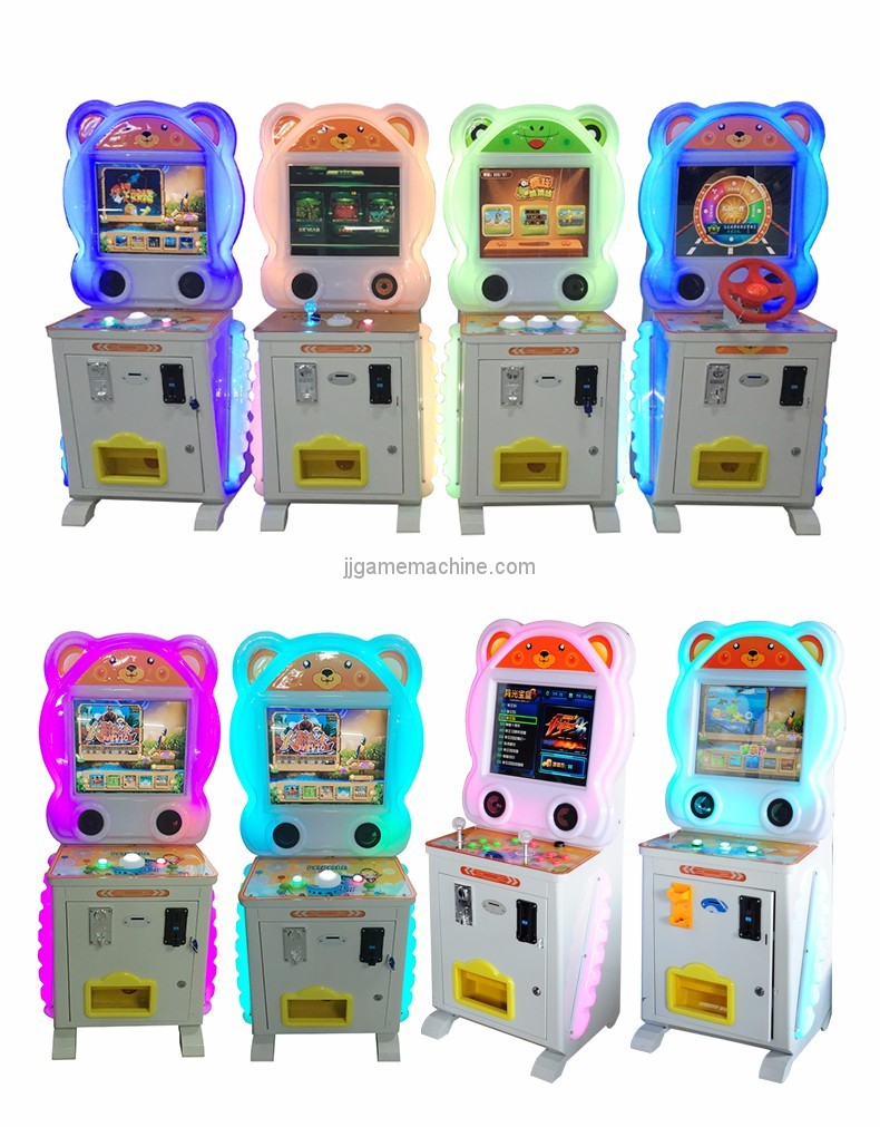 Luxury Blouse patted music coin-operated wisdom children kids arcade machine colors and styles