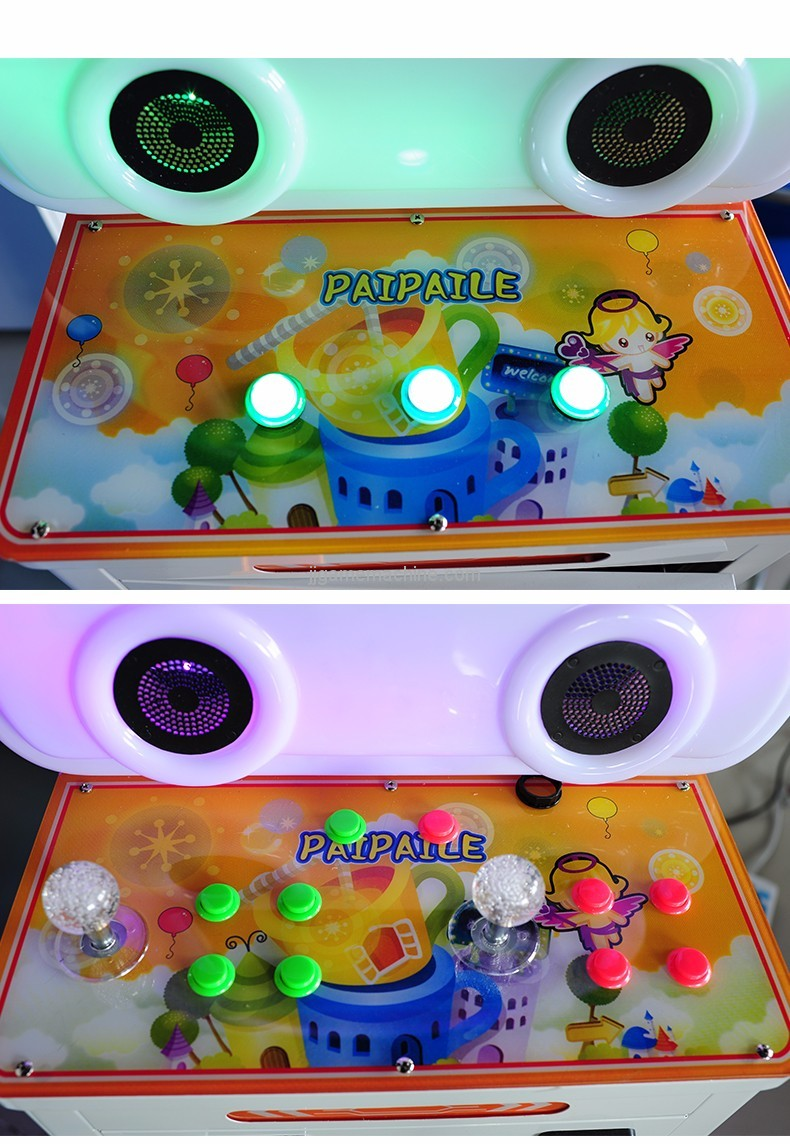 Luxury Blouse patted music coin-operated wisdom children kids arcade machine button