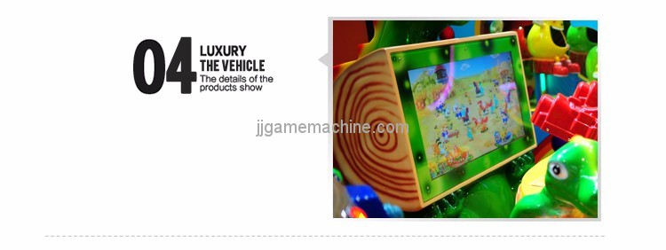 Gun Baby indoor simulation arcade video family activities screen