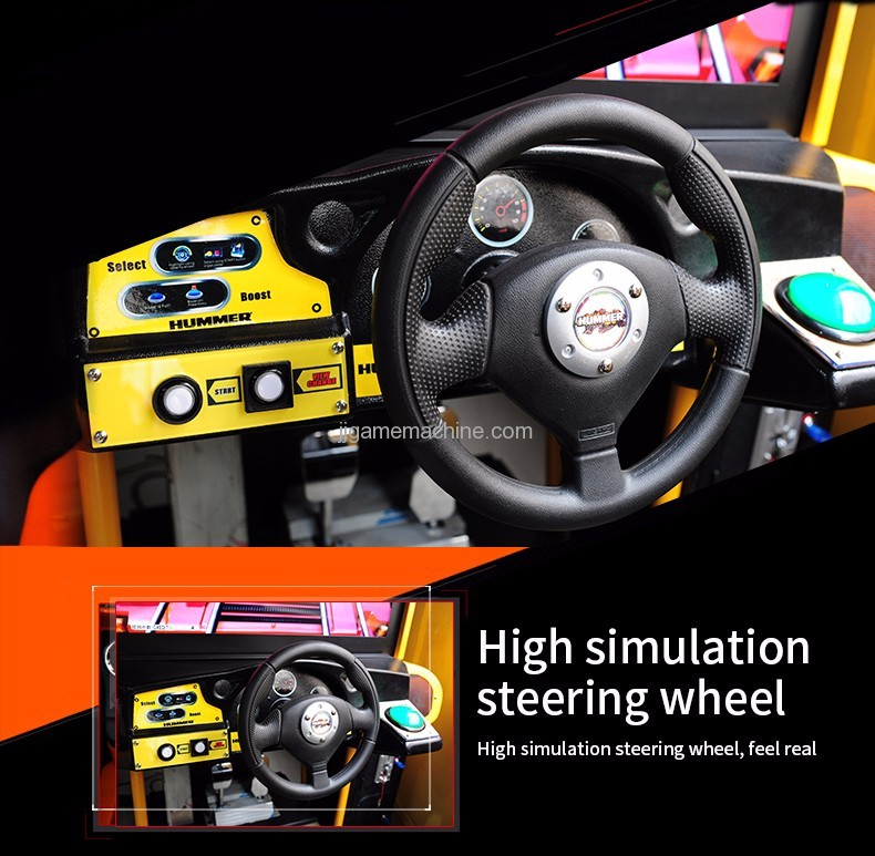 Hummer racing high simulation steerling wheel