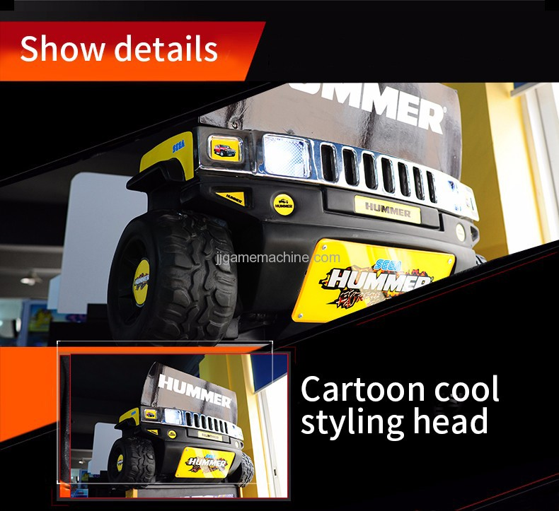 Hummer racing cartoon cool styling head