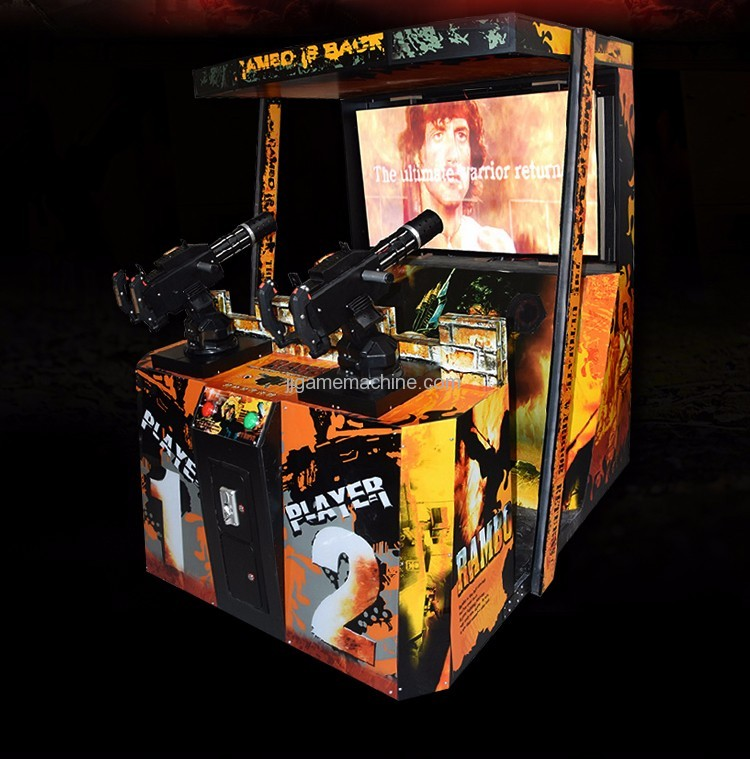 Stallone II simulate arcade shooting game machine