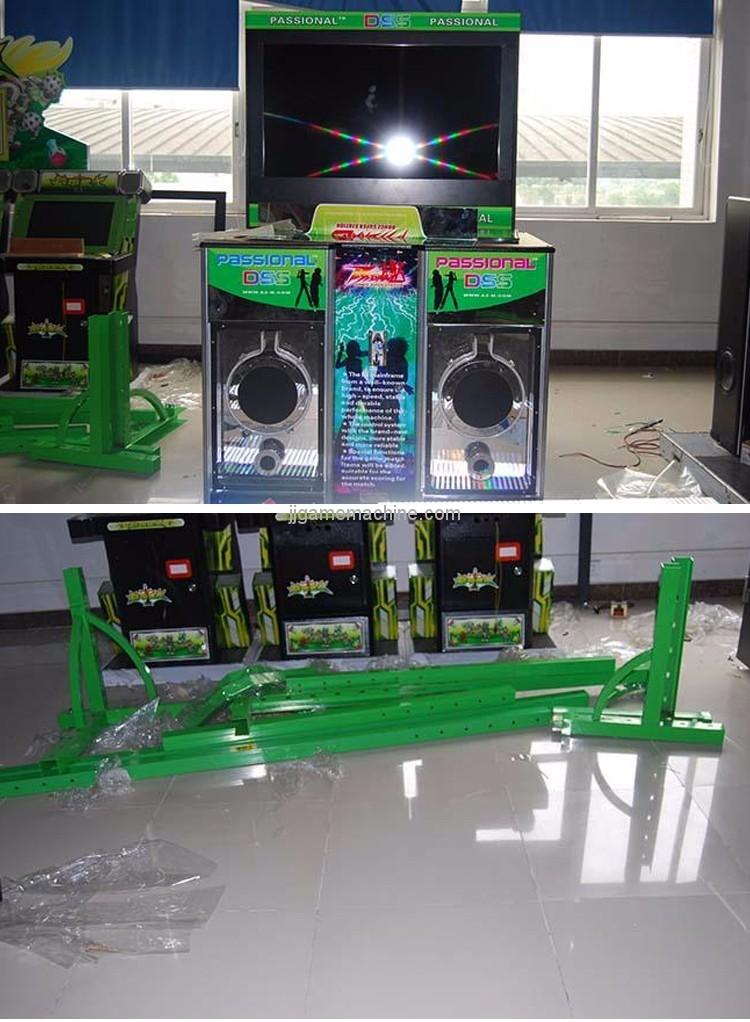 Dancing V electronic simulator music dancing machine game