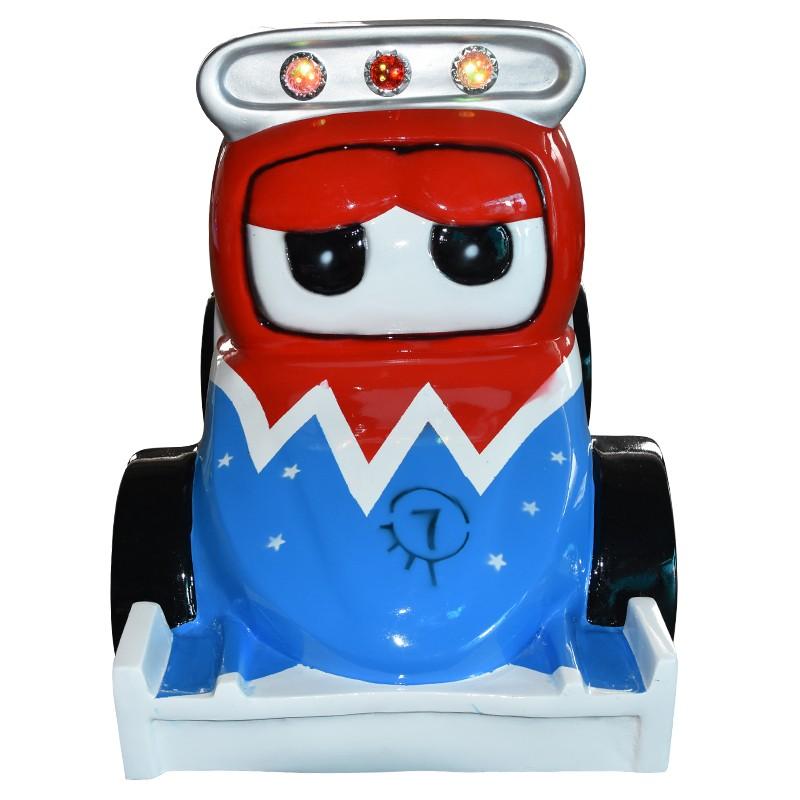 F1 racing car kiddie ride game machine