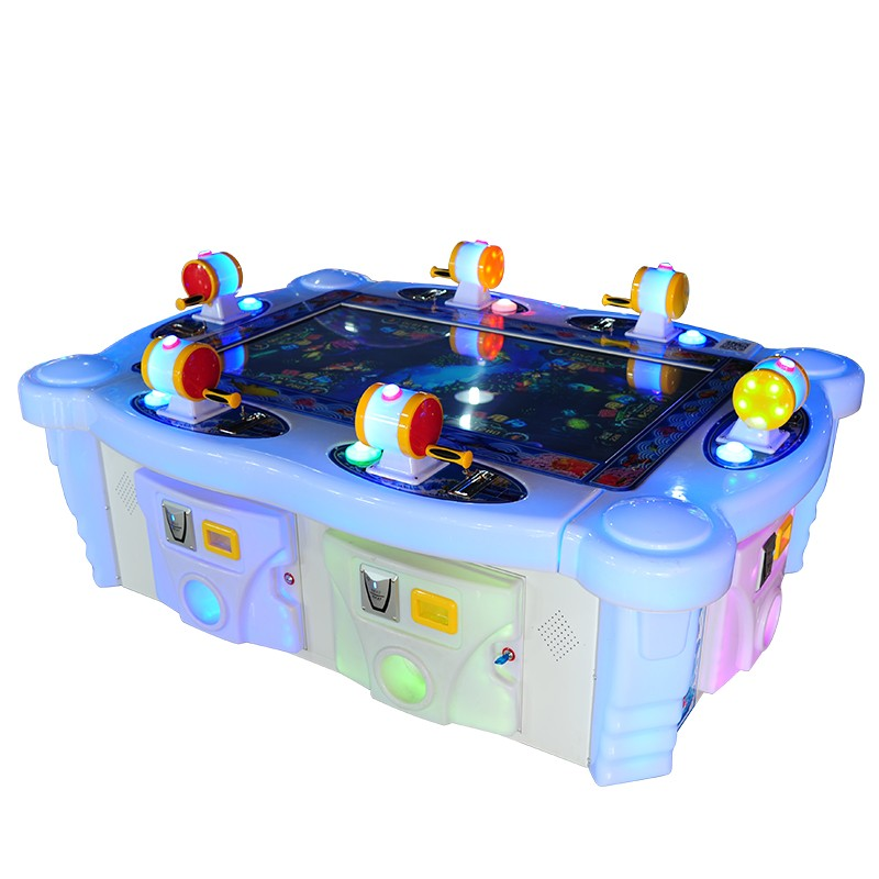 6 Players Ocean Fish Arcade Table fish hunting games machine