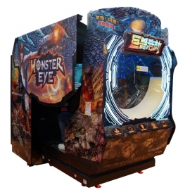 Monster eye arcade shooting games machine