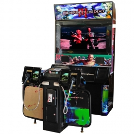 The house of the dead:arcade shooting games machine