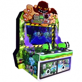 Monster comes video redemption machine