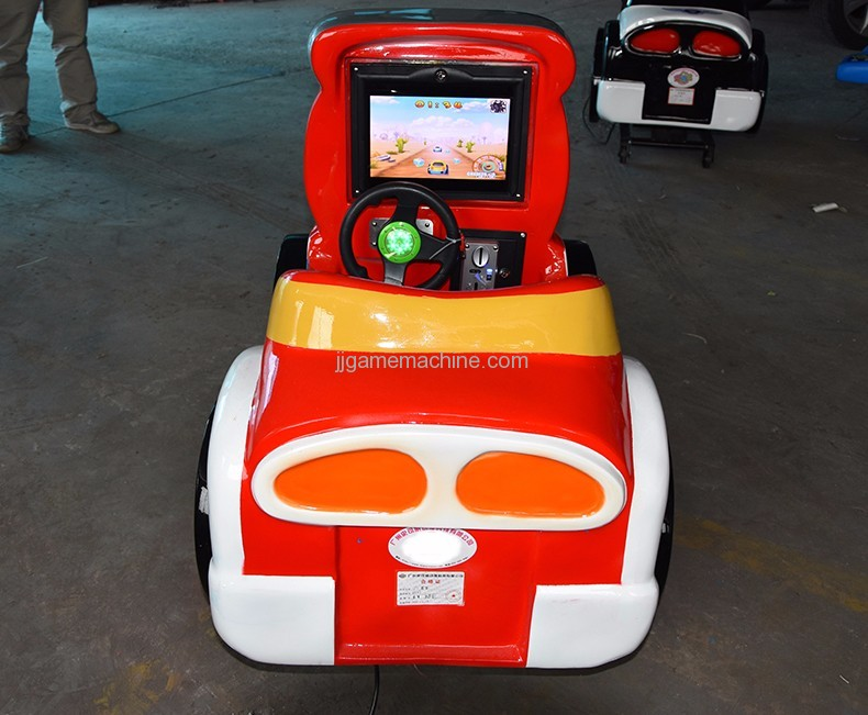 F1 racing car kiddle ride game machine