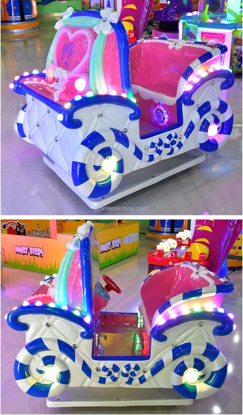 Candy Family kiddle ride game machine