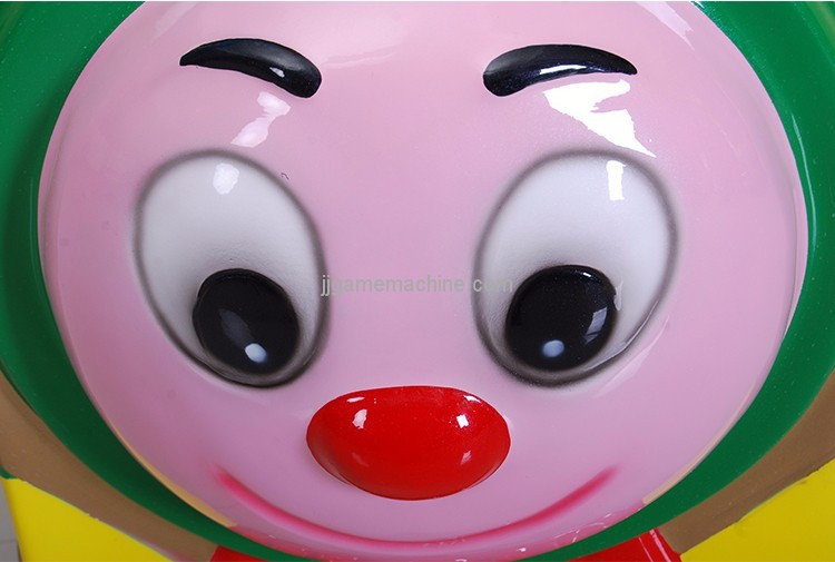 Mini train kiddle ride game machine happy face