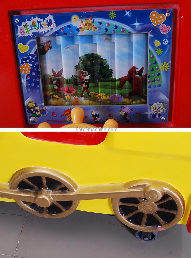 Mini train kiddle ride game machine