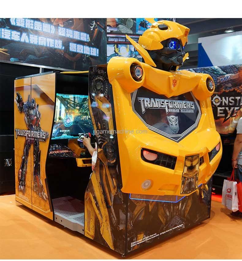 Transformers human alliance video shoot machine