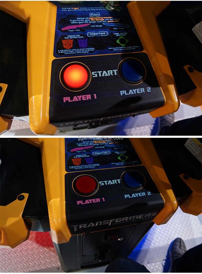 Transformers human alliance video shoot machine control board