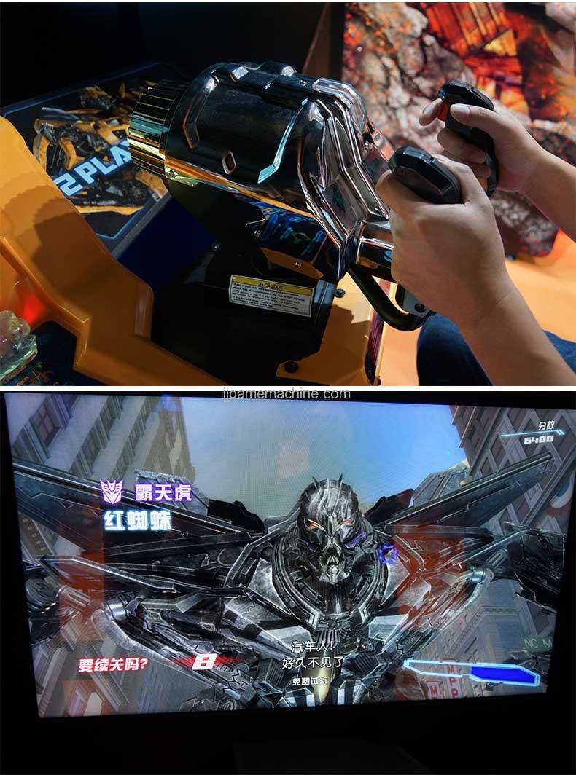 Transformers human alliance video shoot machine details