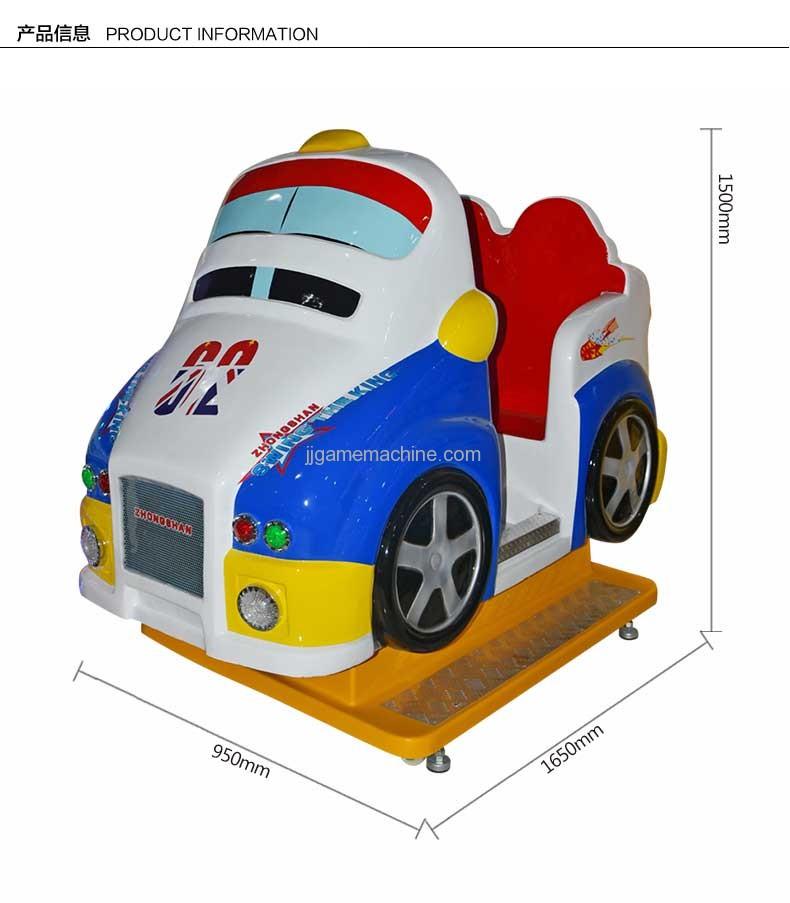 Italian Racing kiddle ride size