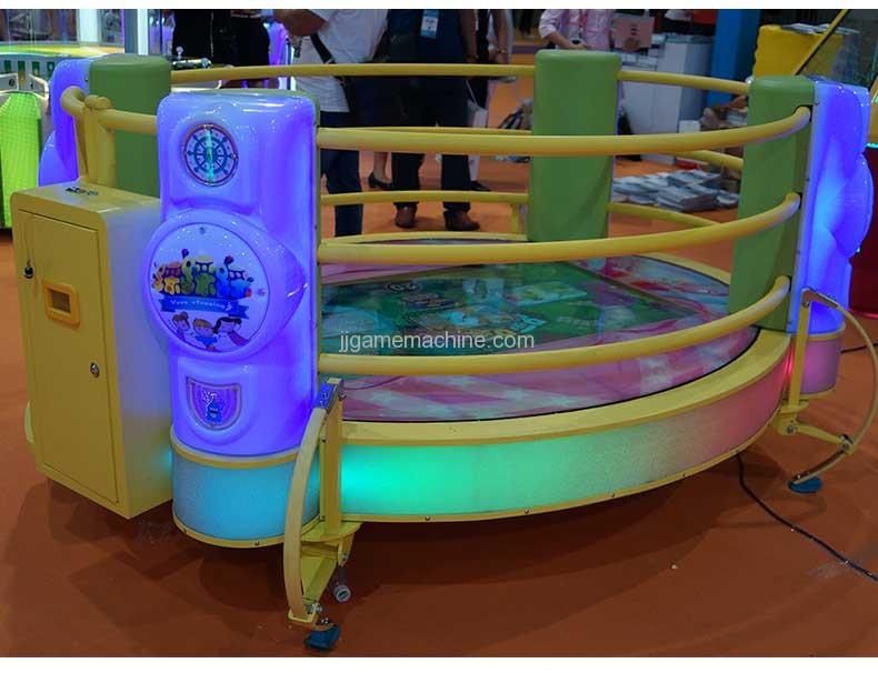 luxury step on music simulator sports game machine