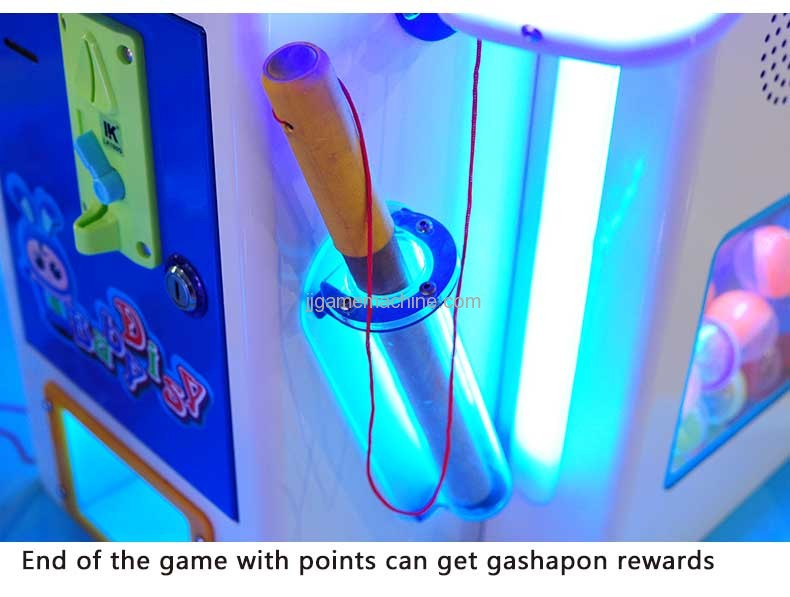 end of the game with point can get  gashapon rewards