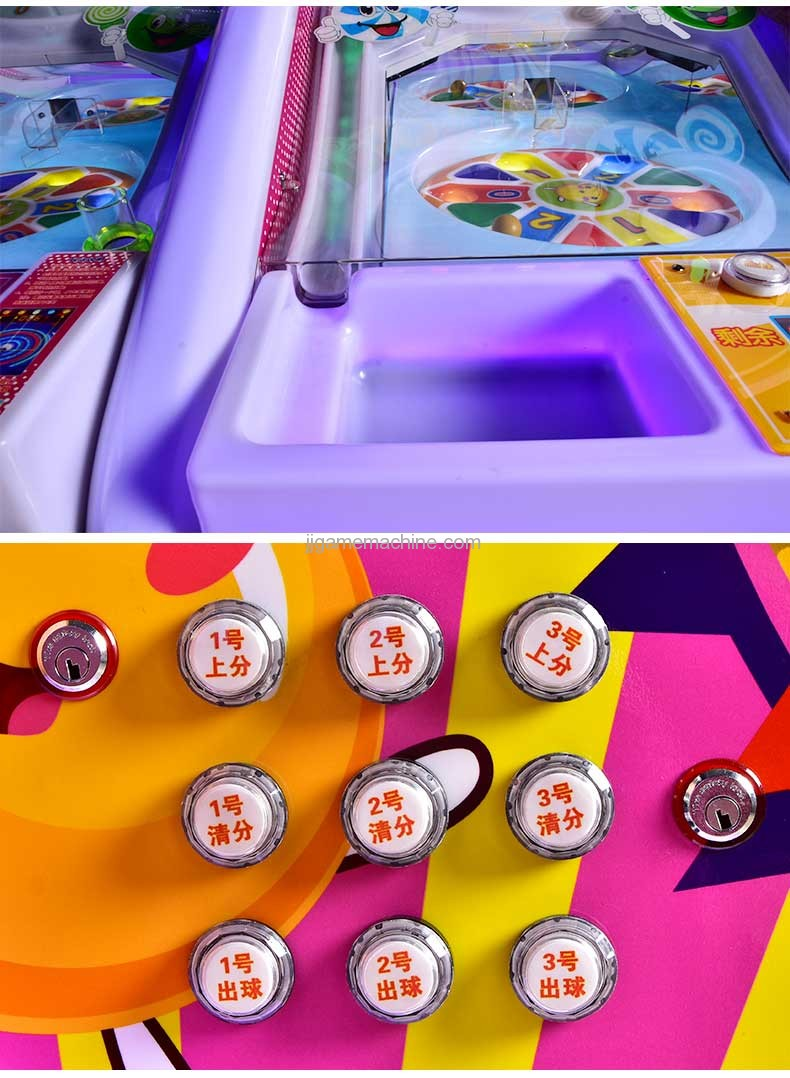 Magic lolipop pinball machine