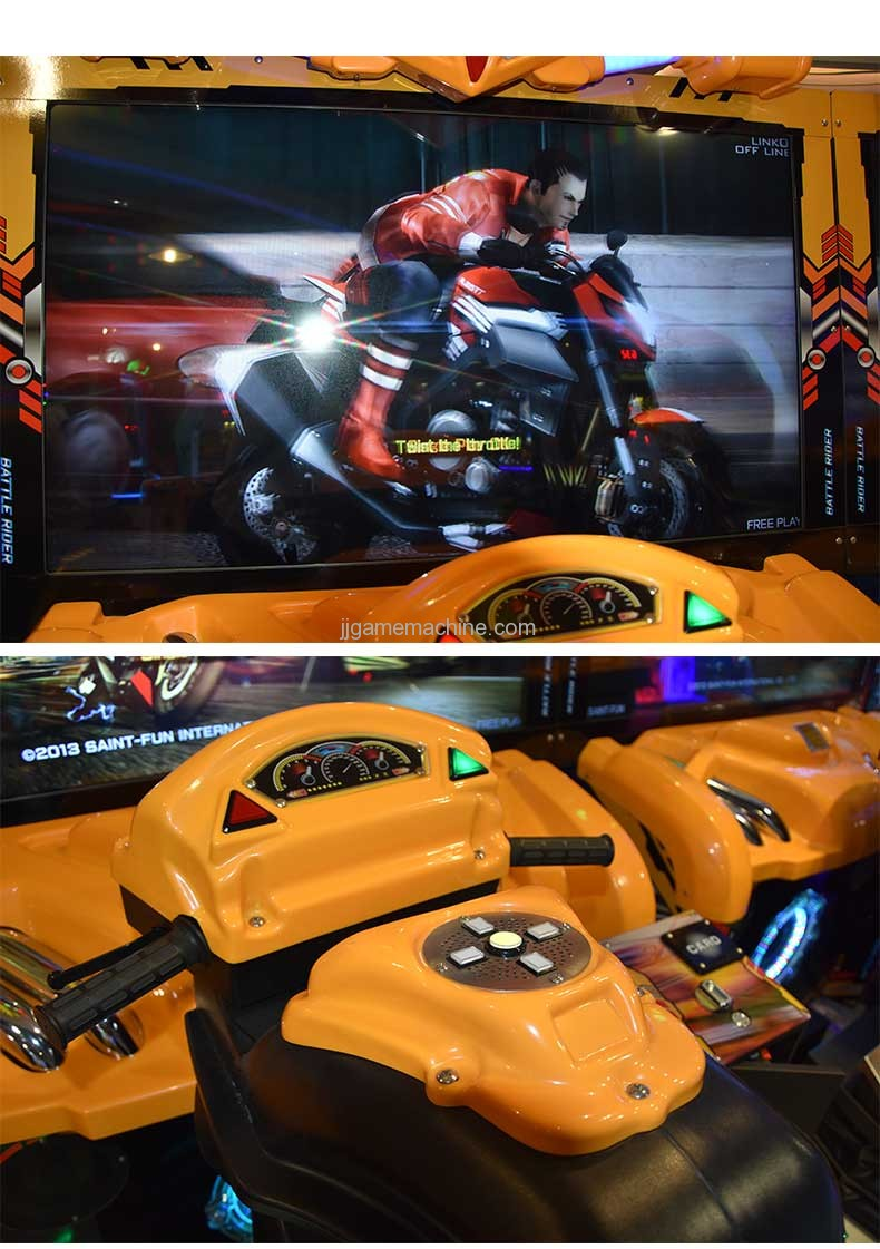 Fast Beat Battle Rider arcade motorcycle racing machine