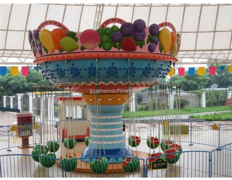 Watermelon Flying Chair carousel game machine