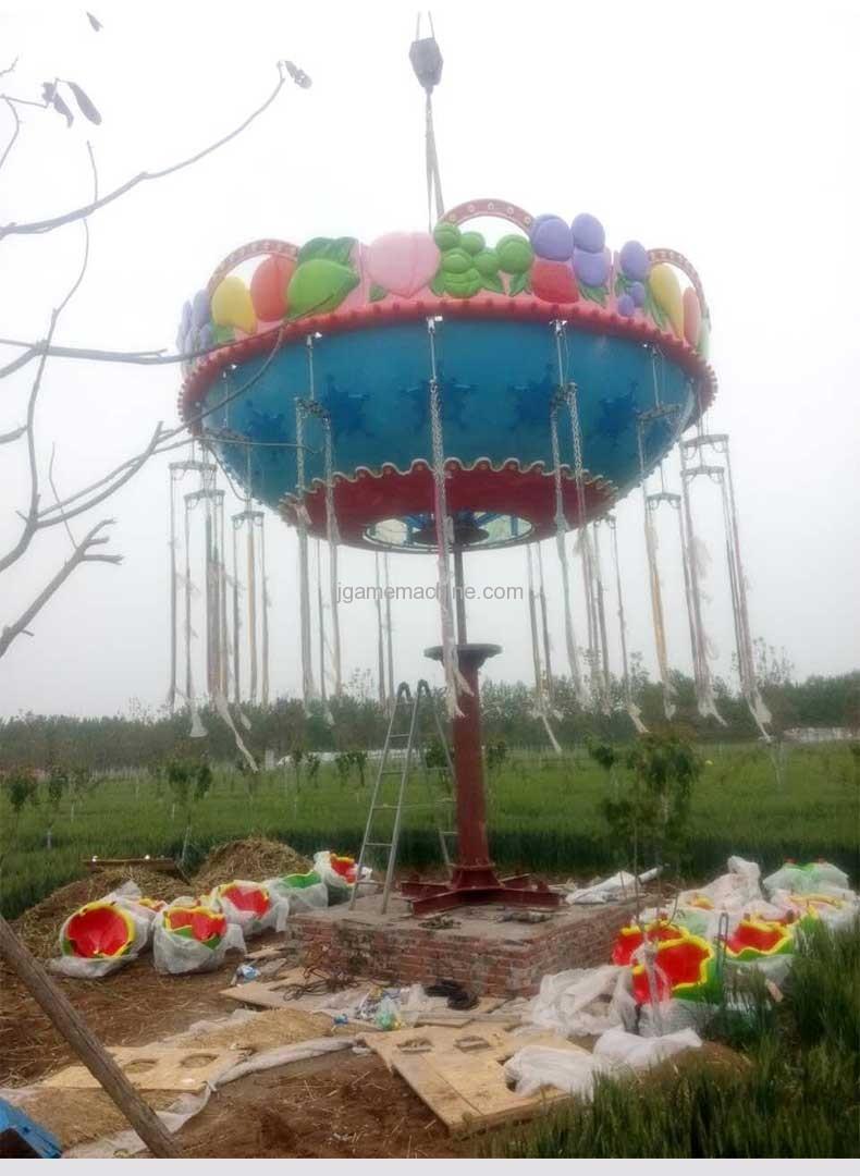 Watermelon Flying Chair carousel game machine