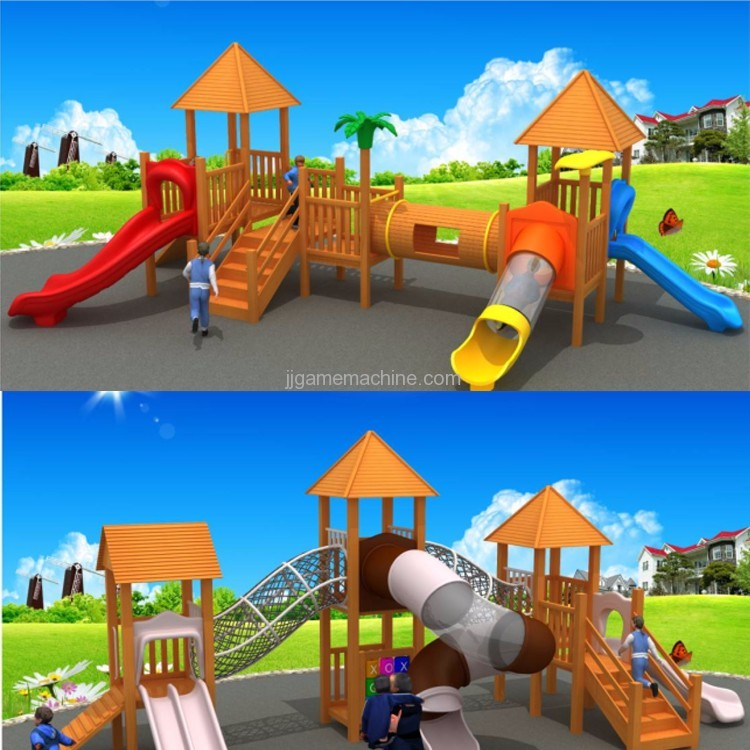 Indoor/Outdoor Amusement Park Plastic Kids games playground equipment