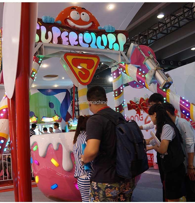 Super Lollipop big pendulum ride