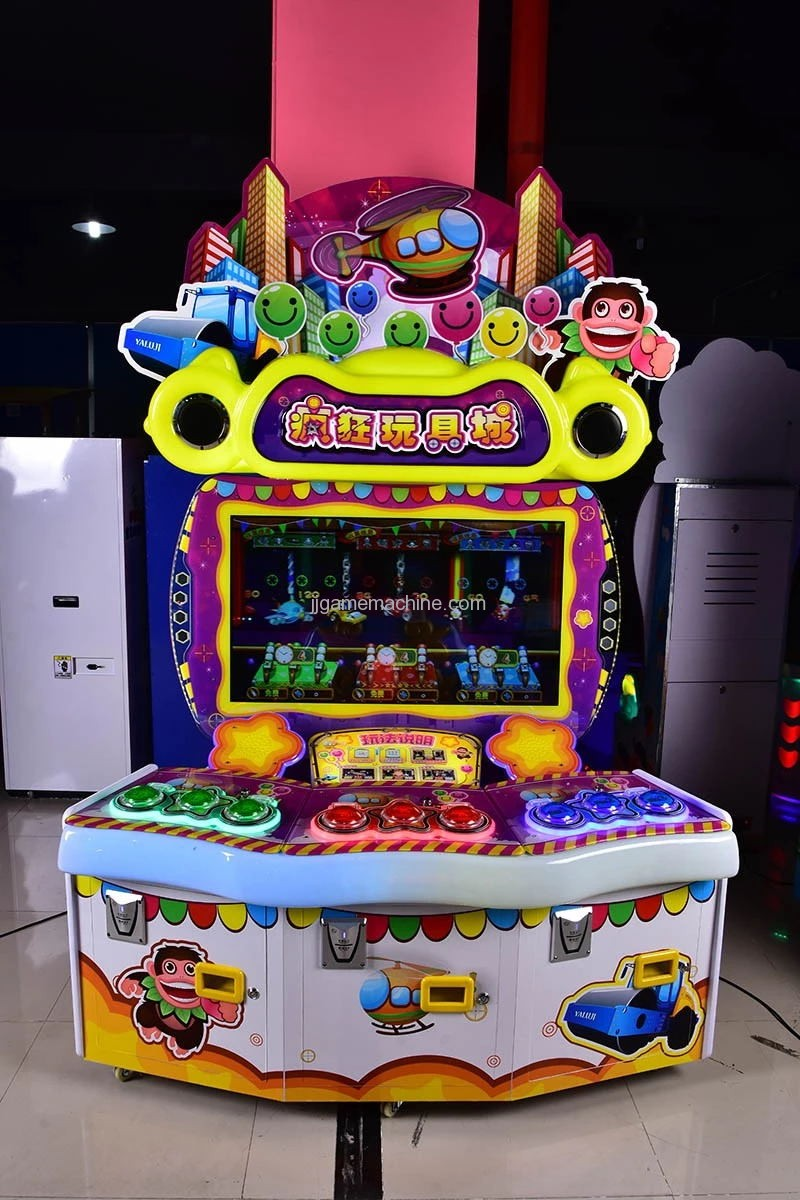 crazy toy tickets redemption game machine