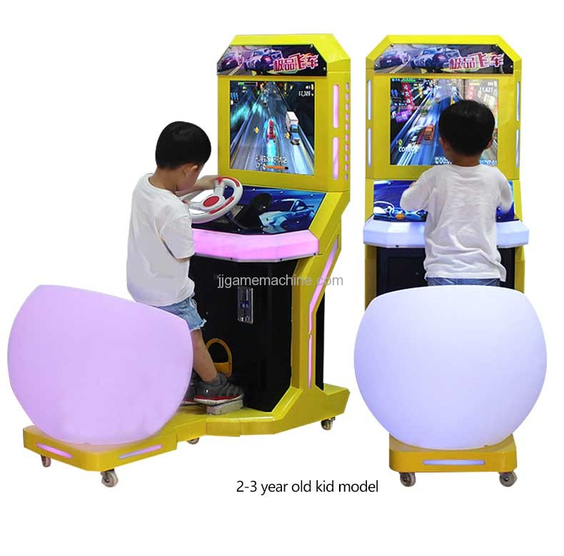 Need for Speed kids video racing game machine model show