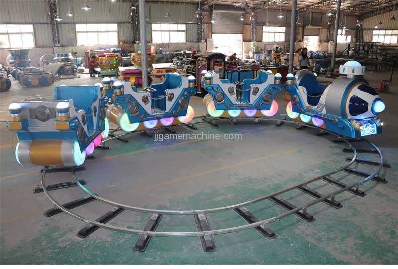 Fei Taike kiddie rides rail amusement train machine