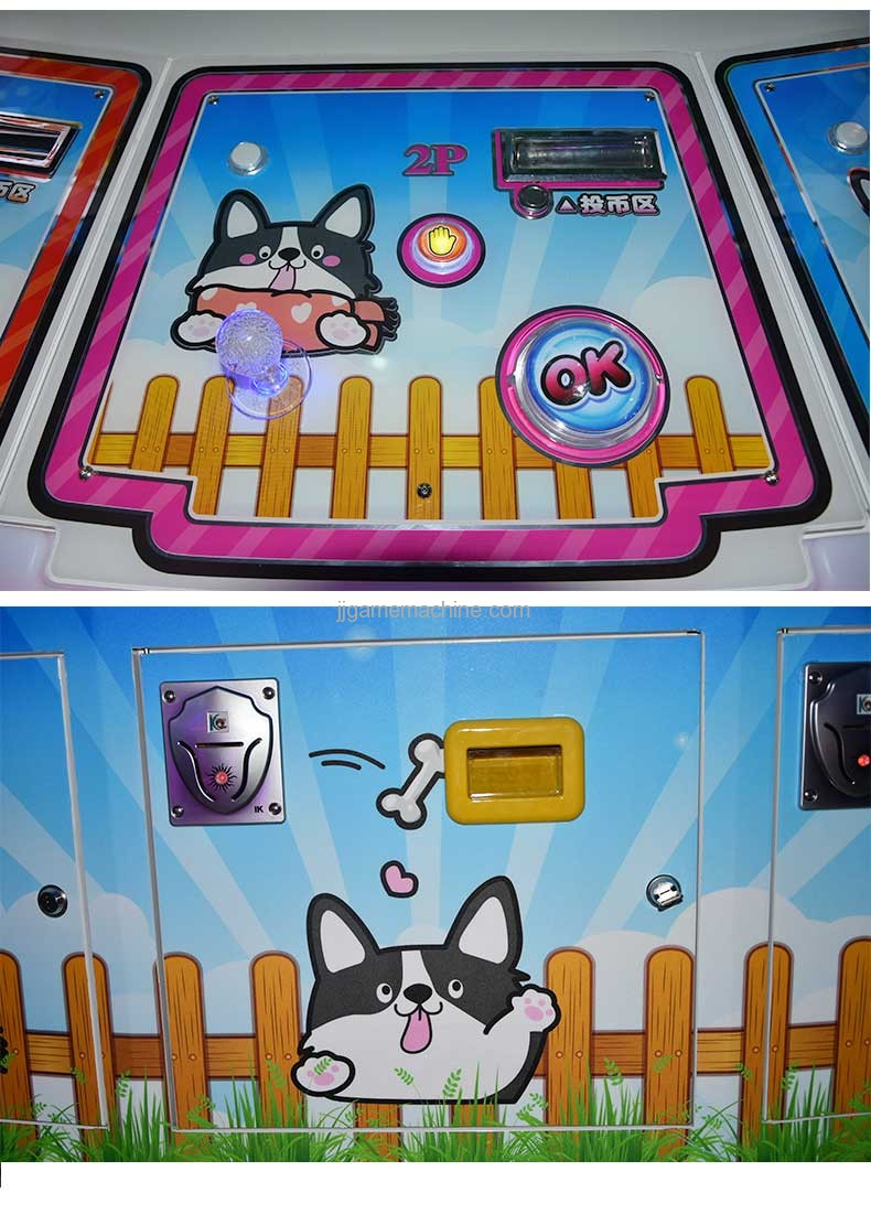 Dog Park animal lottery redemption machine