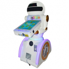 Touch robot video machine kids hit game machine