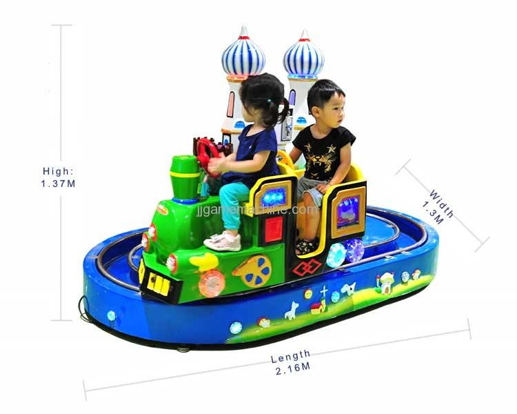 Castle Train simulation track kiddie ride