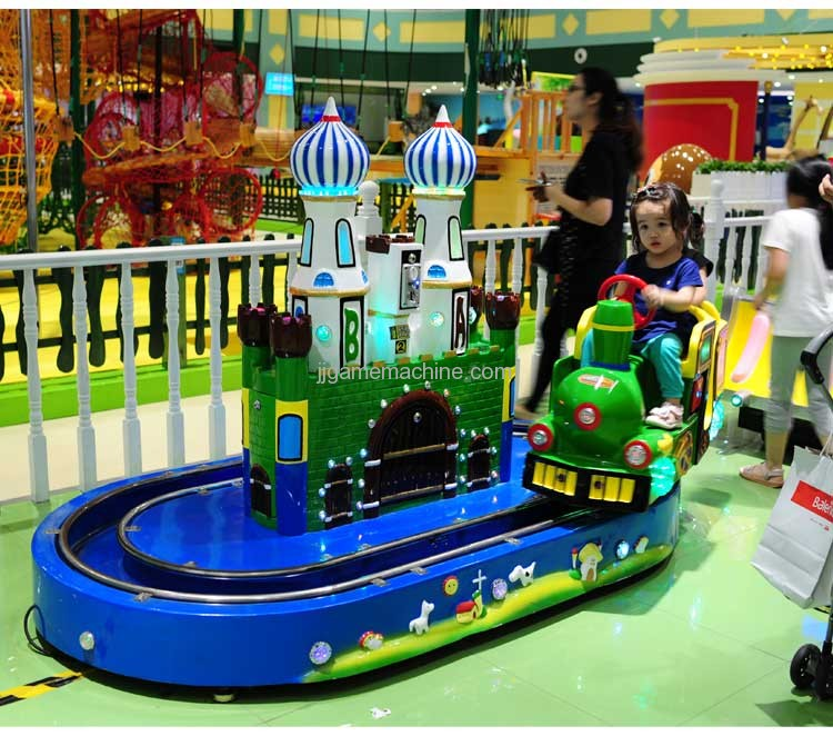 Castle Train simulation track kiddie ride