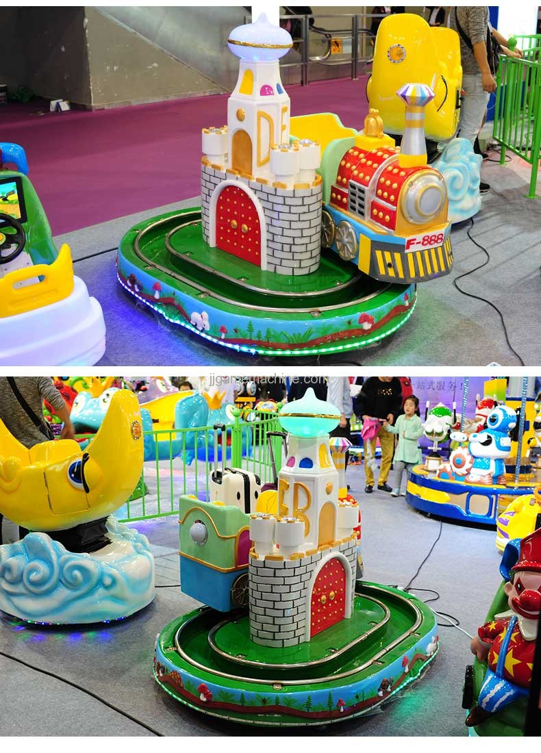 Castle mini Train simulation track kiddie ride