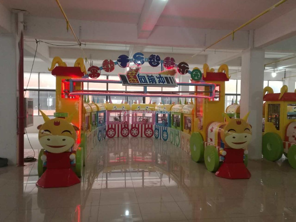 customized Naughty castle Machinarium kids indoor playground equipment