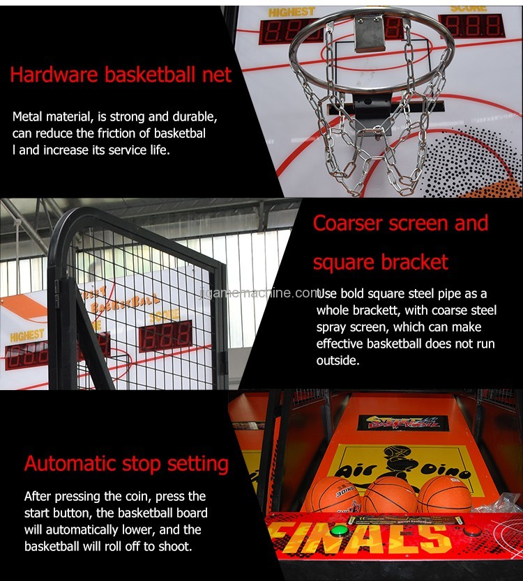 Best Basketball Player street indoor basketball game machine