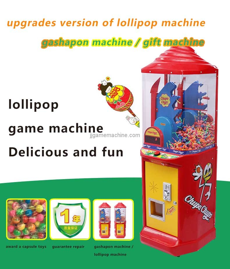 lollipop coin-op gift vending machine