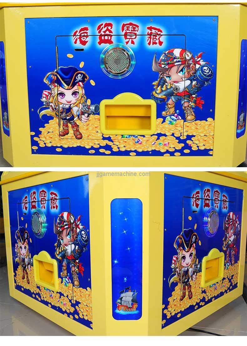 Pirate Treasure-arcade coin pusher games